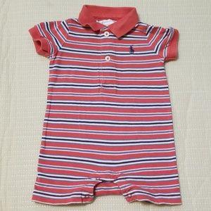 Ralph Lauren polo infant boys 1piece outfit